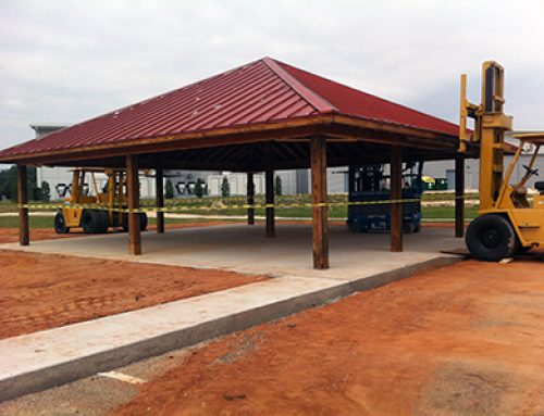 Slideshow: Moving the Vanelli's Pavilion to Veterans Park