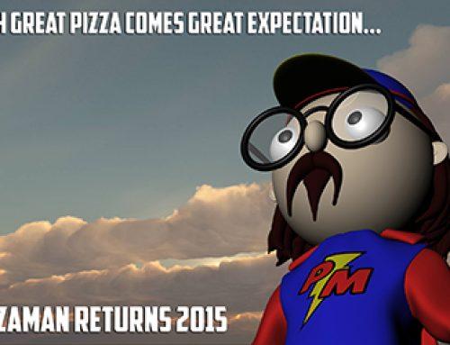 Pizzaman to Return Soon!