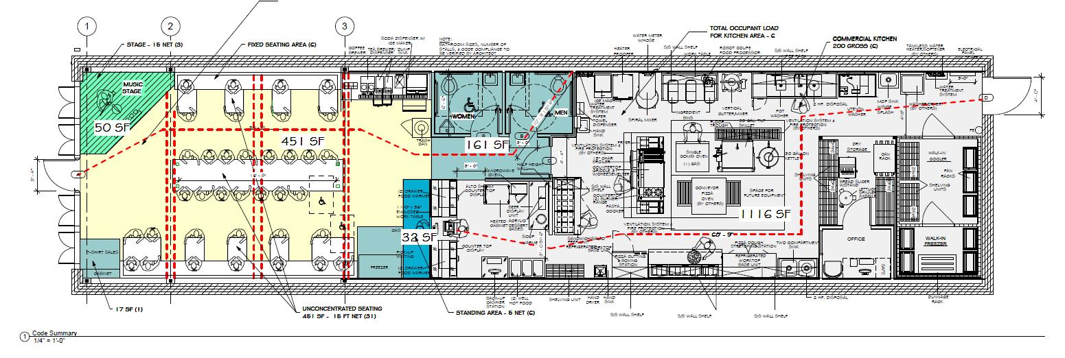 Bistro Floor Plan