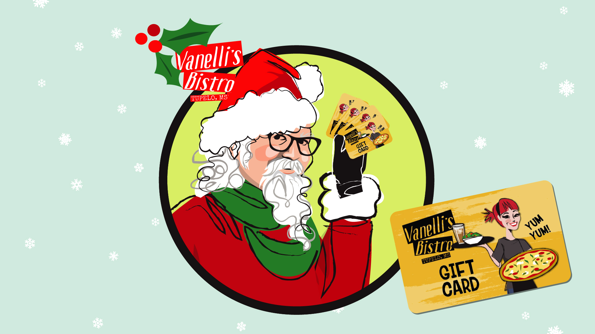 Gift Cards Just in Time for Christmas! - Vanelli\'s Bistro