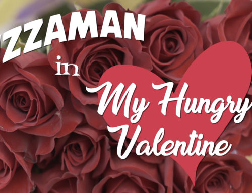 "Pizzaman in ""My Hungry Valentine"""