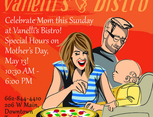 Celebrate Mom this Mother's Day at Vanelli's Bistro!