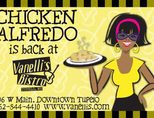 Chicken Alfredo is Back!